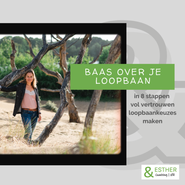 Online loopbaan training Baas over je loopbaan &ESTHER