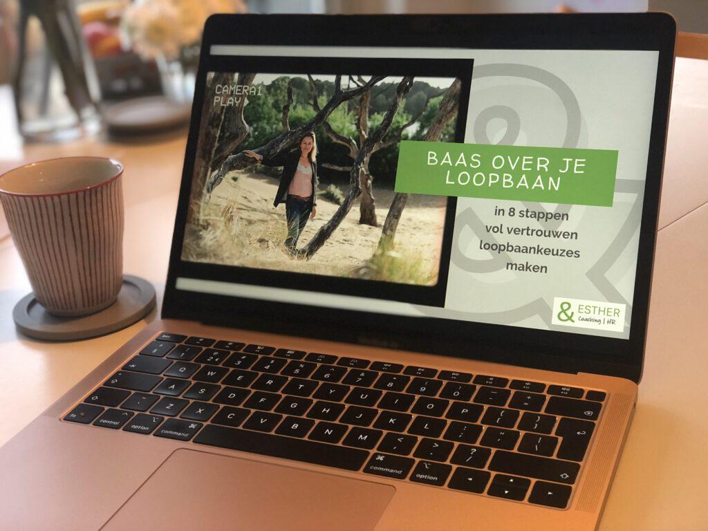 Baas over je loopbaan - online training - loopbaancoaching